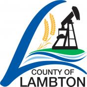 County of Lambton Logo a stylized letter