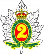 Regimental badge of the Queen's Own Rifles of Canada