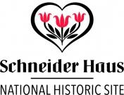 Le logo du Lieu historique national de la maison Schneider