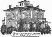 Cottonwood Mansion Logo