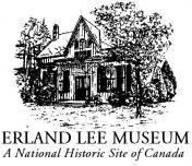 Erland Lee Museum - A National Historic Site of Canada (logo)