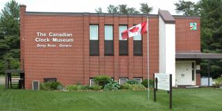 The Canadian Clock Museum building