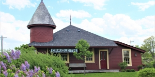 The front of the Craigleith Heritage Depot