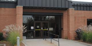 front entrance of Lambton County Archives