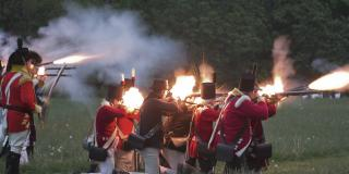 Re-enactment of the Battle of Stoney Creek, War of 1812 Bicentennial, Signature Event, City of Hamilton, Living History