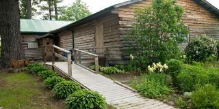 The Cloyne Pioneer Museum has has an accessible entrance.