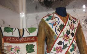 Beautiful examples of Ojibwa beadwork