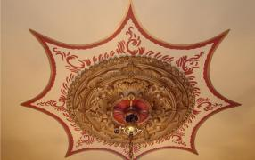 Front Hall Ceiling Fresco