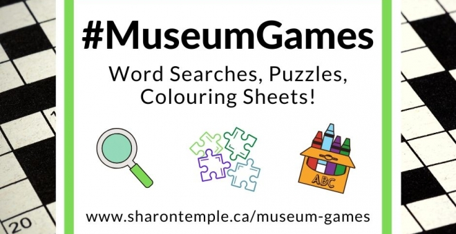 Sharon Temple's #MuseumGames available online