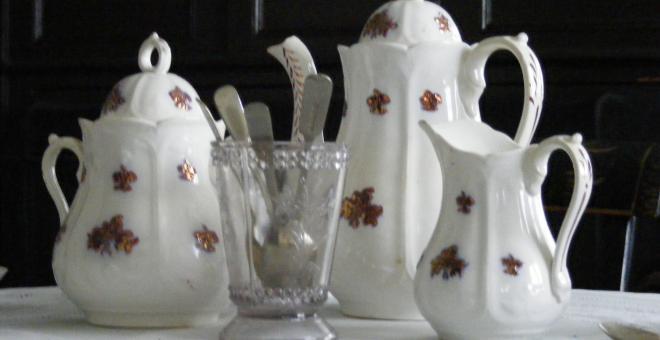 Scottish Tea at Hutchison House