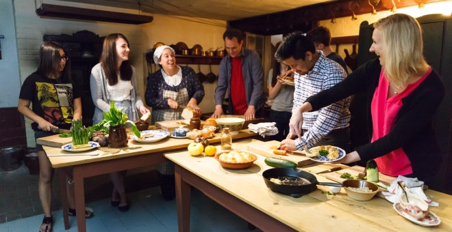 Creating culinary masterpieces in Dundurn's historic kitchen