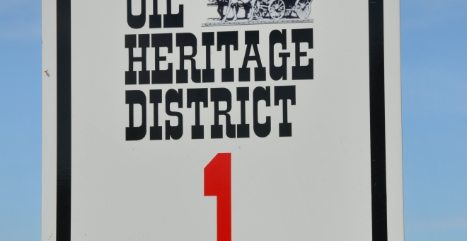 Oil Heritage District Driving Tour