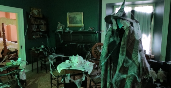 The Haunted Parlour at Hutchison House Museum