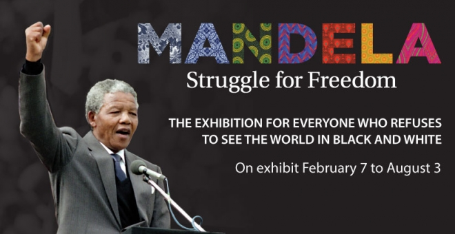 Mandela: Struggle for Freedom on exhibit at the Ken Seiling Waterloo Region Museum