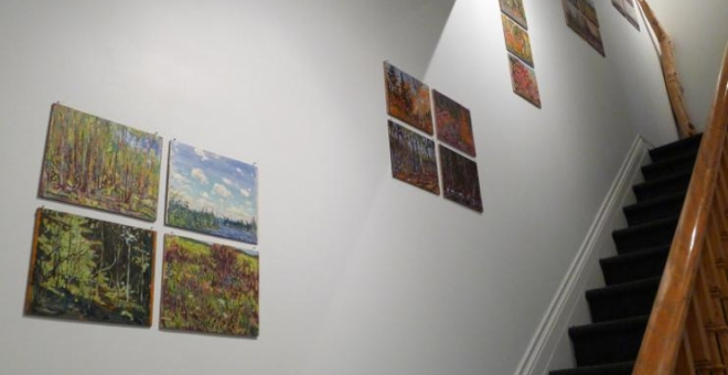 Image of paintings by Eric McConnachie
