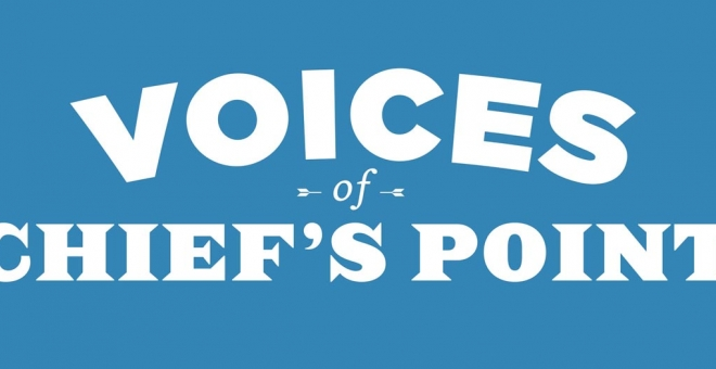 Voices of Chief's Point Logo