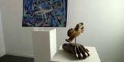 Floyd Kuptana Gallery: work in stone, bone and on paper