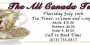 All Canada! Tea