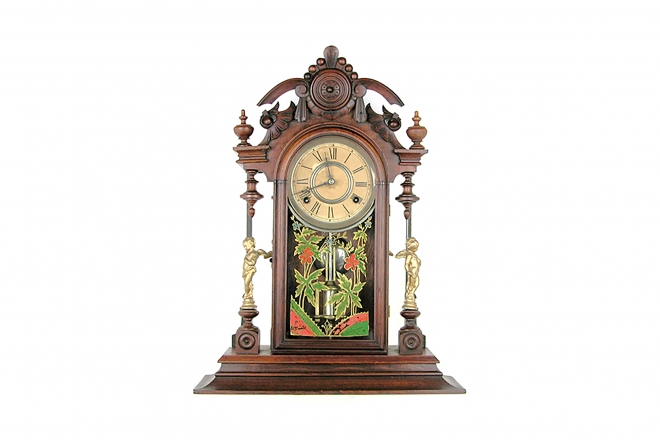 City of Hamilton Mantel Clock